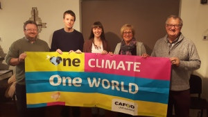 CAFOD One Climate One World volunteers