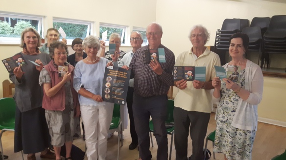 Parishioners from Anglesey kickstarted the Power to Be Card signing at a CAFOD evening.jpg