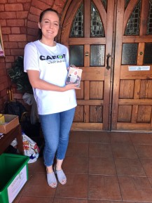 CAFOD volunteer Harriet organised a Speak Up event in her parish