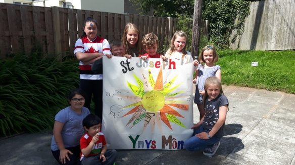 Children from St Joseph's Anglesey Power to Be