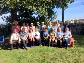 Participants from Holywell taking part in the Share the Journey walk